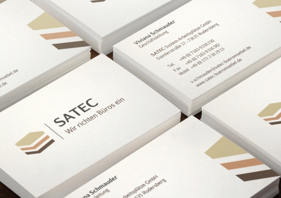Satec Corporate Desing bei Design Made in Germany | Werbeagentur ...