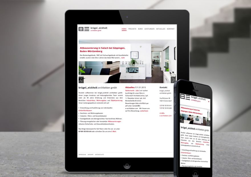 brügel_eickholt architekten | Werbeagentur & Social Media Stuttgart